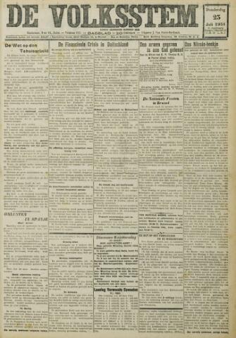 De Volksstem 1931-07-23