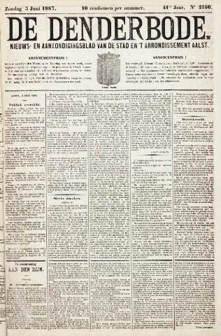 De Denderbode 1887-06-05