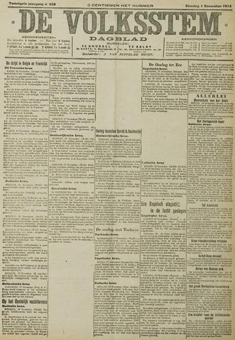 De Volksstem 1914-12-01