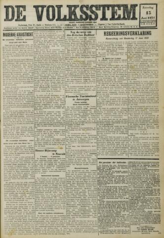 De Volksstem 1931-06-13