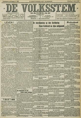 De Volksstem 1914-07-03