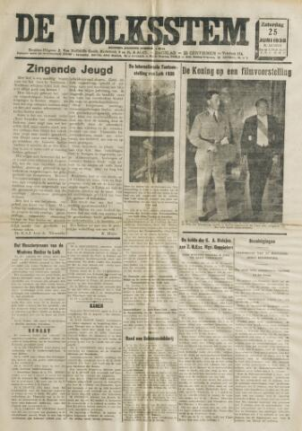 De Volksstem 1938-06-25