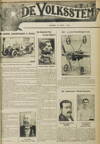 De Volksstem 1914-04-19
