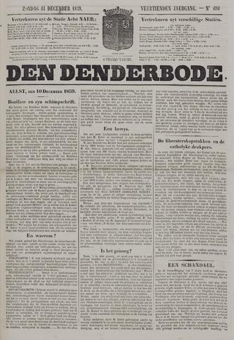 De Denderbode 1859-12-11