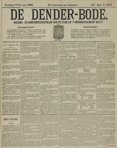 De Denderbode 1890-02-02