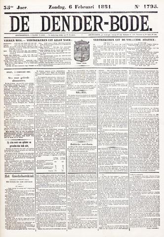 De Denderbode 1881-02-06