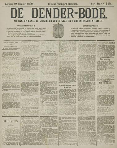 De Denderbode 1890-01-19