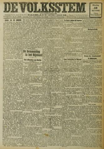 De Volksstem 1923-07-10