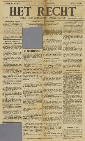 Het Recht 1913