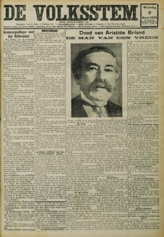 De Volksstem 1932-03-09