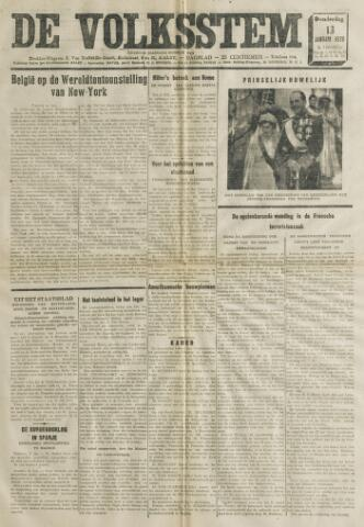 De Volksstem 1938-01-13
