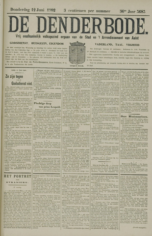 De Denderbode 1902-06-12