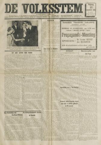 De Volksstem 1938-02-11
