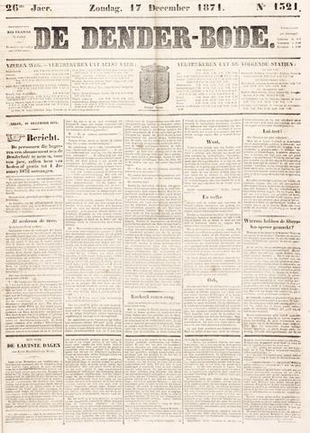 De Denderbode 1871-12-17
