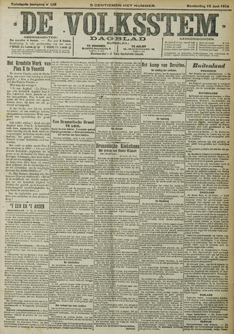 De Volksstem 1914-06-18