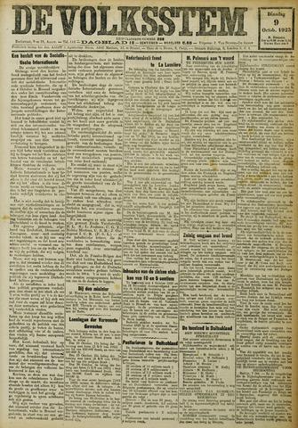 De Volksstem 1923-10-09