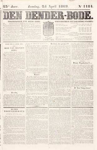 De Denderbode 1869-04-25