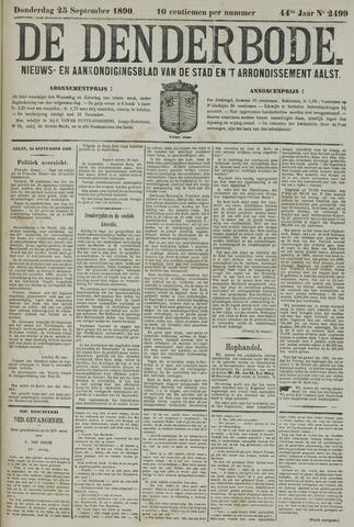 De Denderbode 1890-09-25