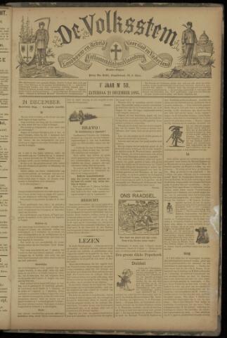 De Volksstem 1895-12-21