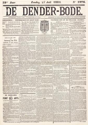 De Denderbode 1884-07-27