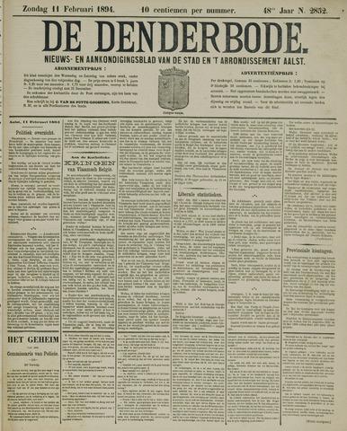 De Denderbode 1894-02-11
