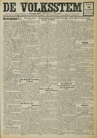 De Volksstem 1926-04-30