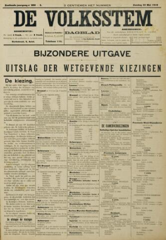 De Volksstem 1910-05-22