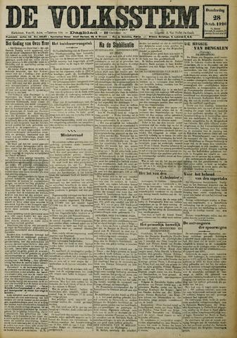 De Volksstem 1926-10-28