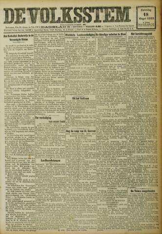 De Volksstem 1923-08-18
