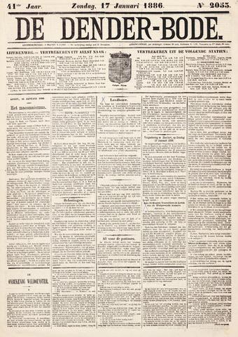 De Denderbode 1886-01-17