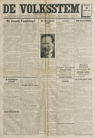 De Volksstem 1938-03-19