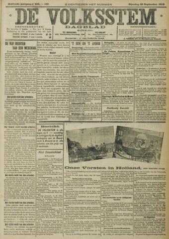 De Volksstem 1910-09-20