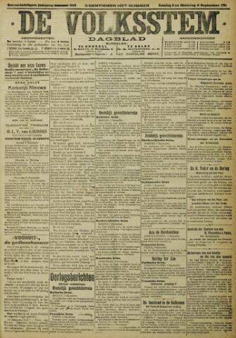De Volksstem 1915-09-05