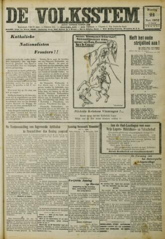 De Volksstem 1932-11-22