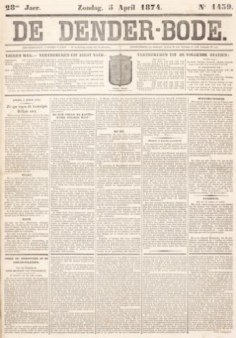 De Denderbode 1874-04-05