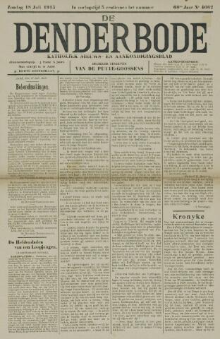 De Denderbode 1915-07-18