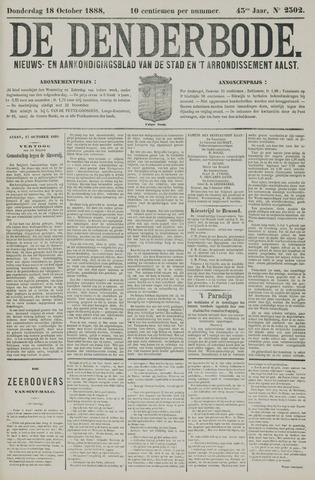De Denderbode 1888-10-18