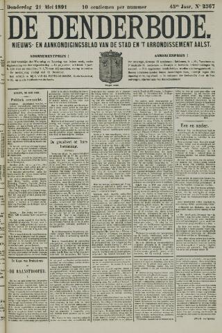 De Denderbode 1891-05-21