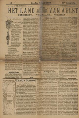 Het Land van Aelst 1889-04-07