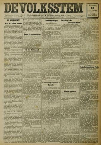 De Volksstem 1923-01-10