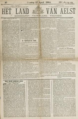 Het Land van Aelst 1884-04-27