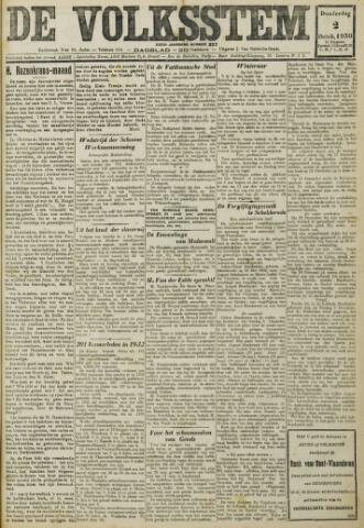 De Volksstem 1930-10-02