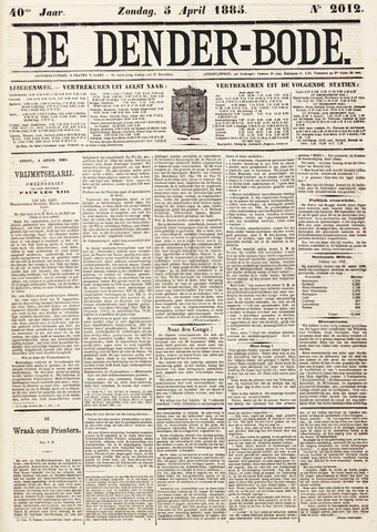 De Denderbode 1885-04-05