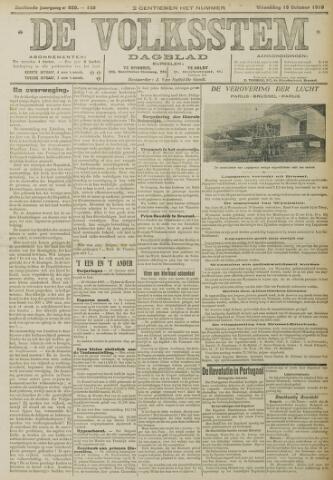 De Volksstem 1910-10-19