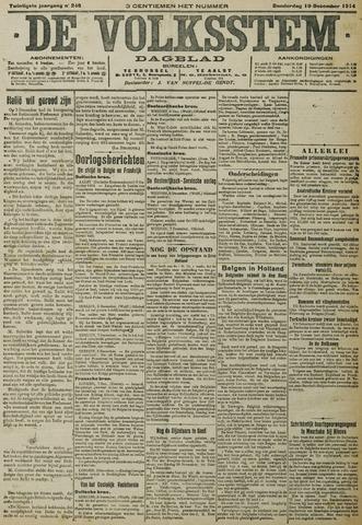 De Volksstem 1914-12-10
