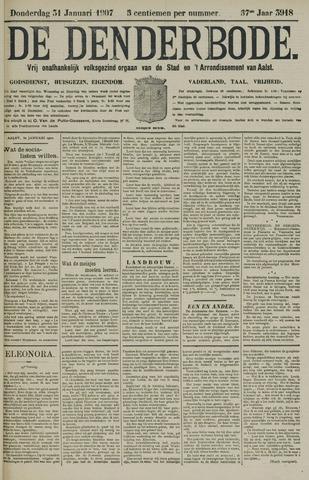 De Denderbode 1907-01-31