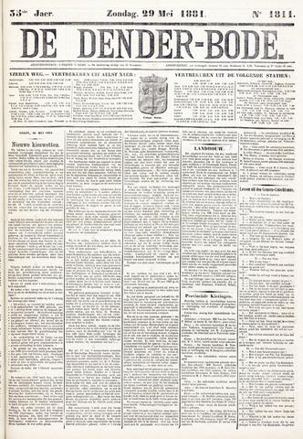 De Denderbode 1881-05-29