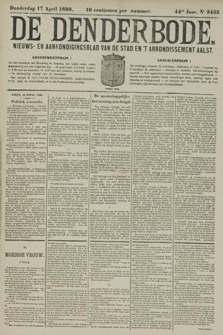 De Denderbode 1890-04-17