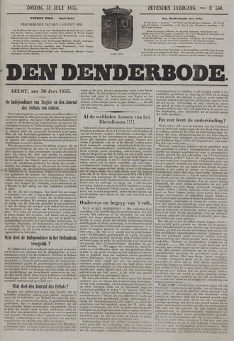 De Denderbode 1853-07-31