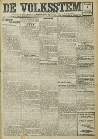 De Volksstem 1931-02-04